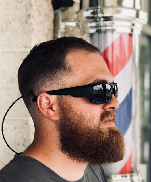 Beard Shape with Hot Towel Neck Shave